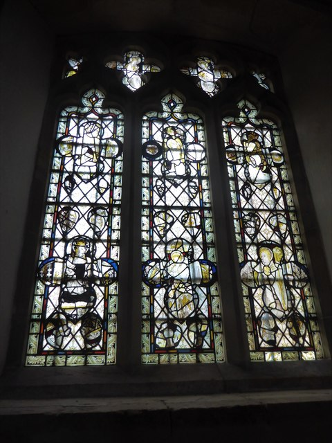 St Mary, Ticehurst: stained glass window (1)