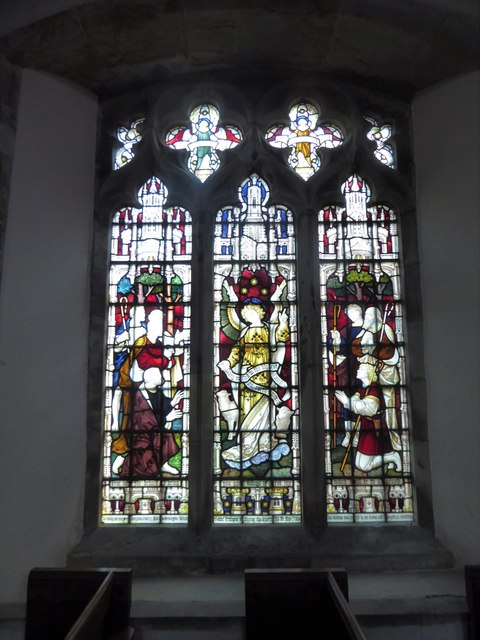 St Mary, Ticehurst: stained glass window (4)