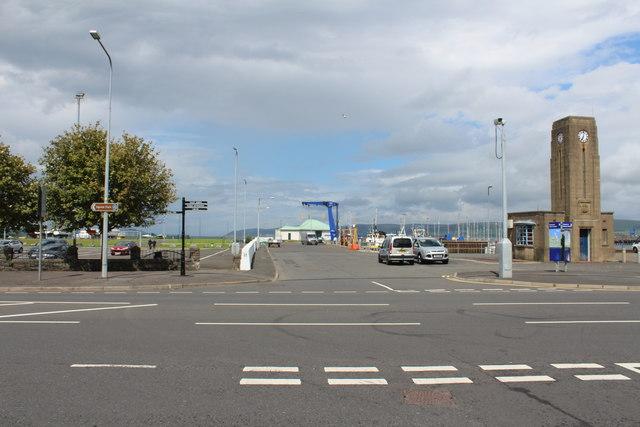 Road to West Pier, Stranraer
