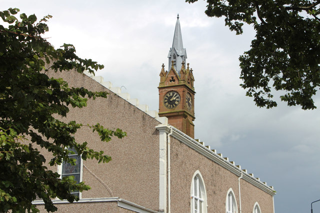 Clock Tower, Ballantrae Parish Church