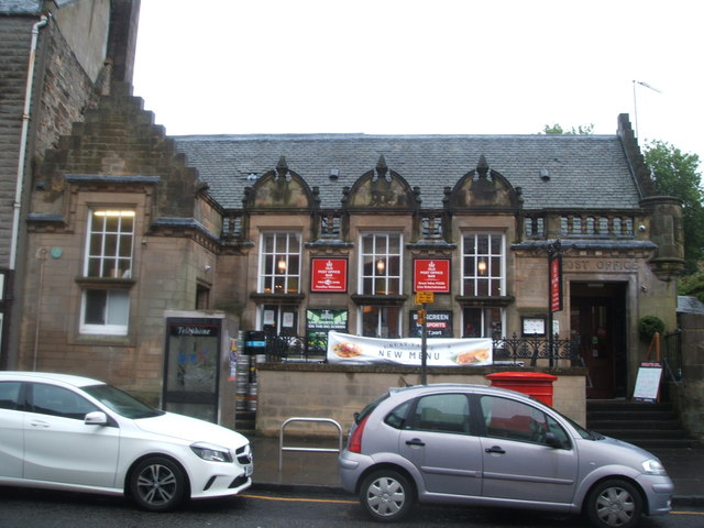 The Post Office Bar, Linlithgow