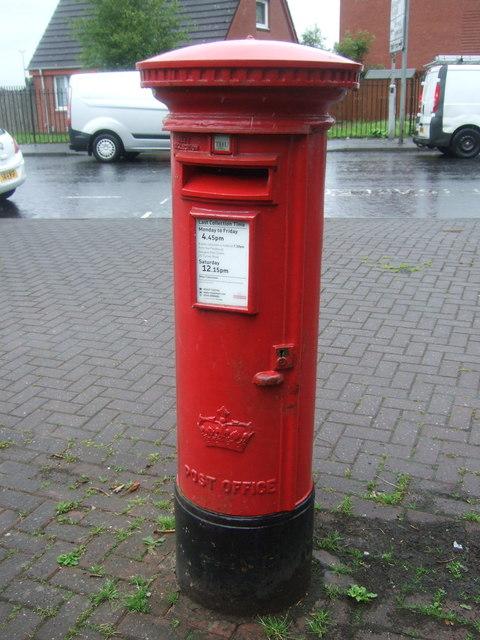 Elizabethan postbox on Killin Street, Shettleston