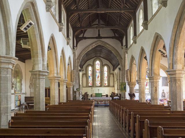 Holy Trinity, Haddenham - East end