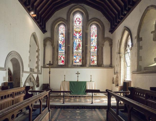 Holy Trinity, Haddenham - Chancel
