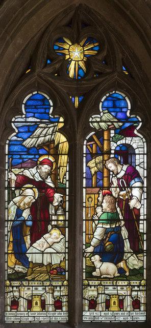 Holy Trinity, Haddenham - Stained glass window