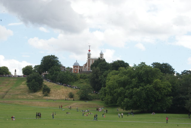View of the Royal Observatory from Greenwich Park
