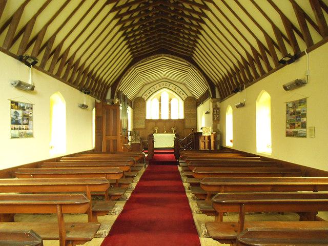 Keasden, St Matthew - interior