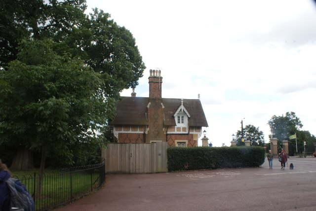 View of the park keeper's house in Greenwich Park