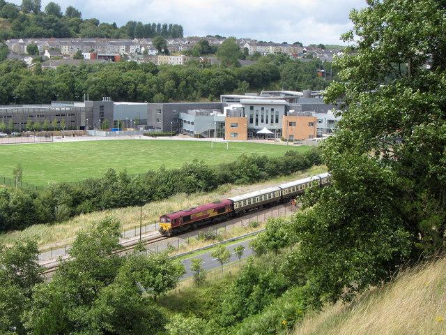 Railtour at Ebbw Vale