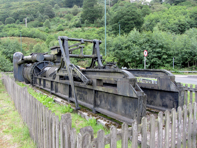 Former steam pump from Marine Colliery