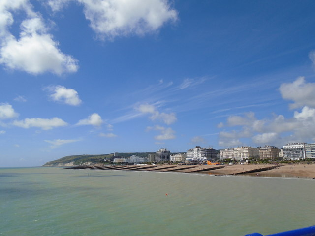 Eastbourne Coastline