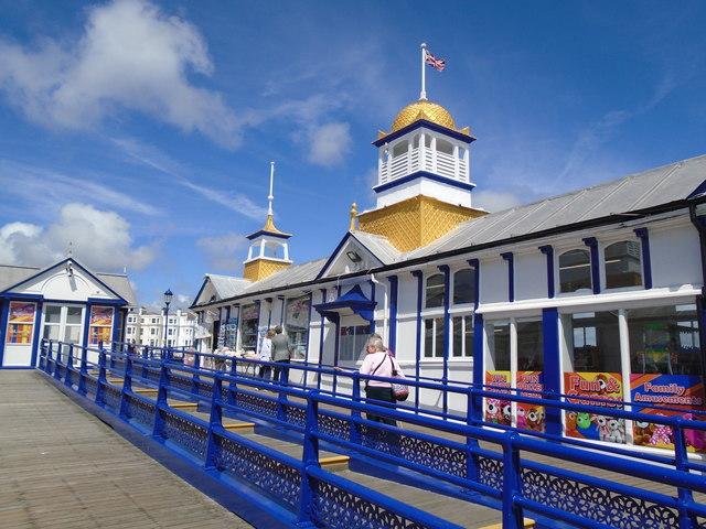 Souvenir shops on Eastbourne Pier