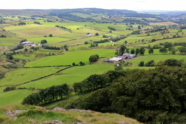 Newlands from Loudon Hill