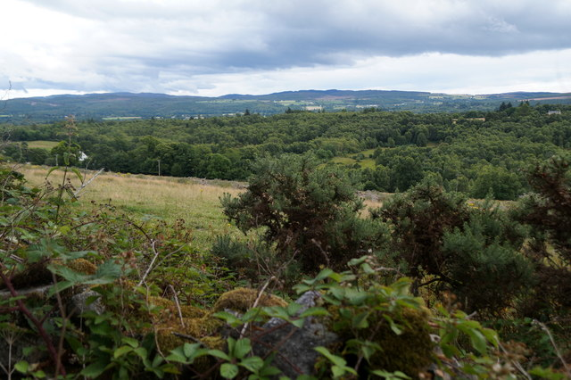 View over Lonbuie from Fanellen