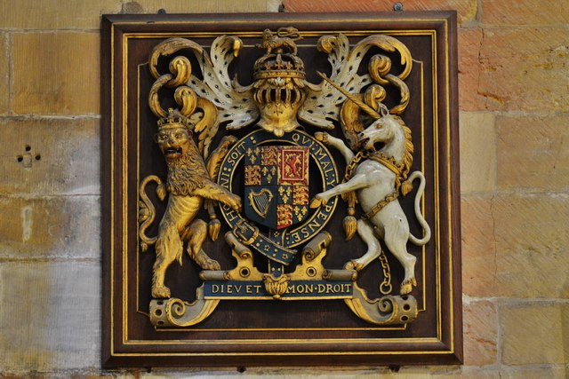 Tewkesbury Abbey: Royal Coat of Arms