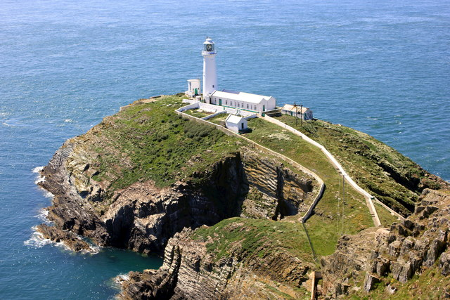 South Stack and South Stack Lighthouse