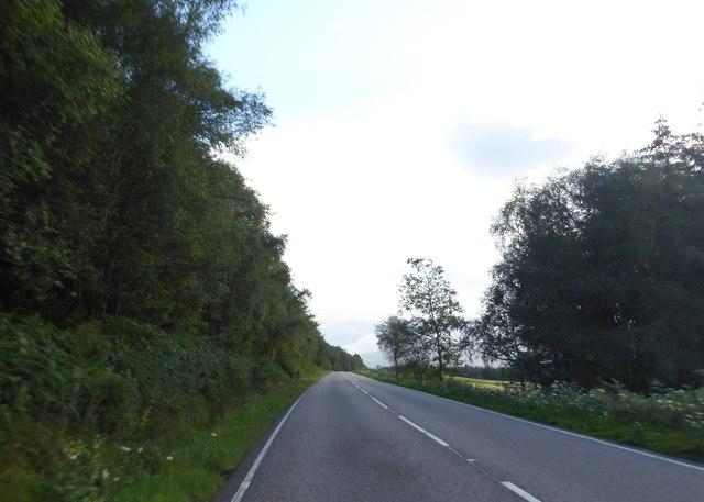 A82 near Achindaul