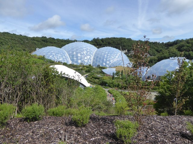 The biomes of the Eden Project