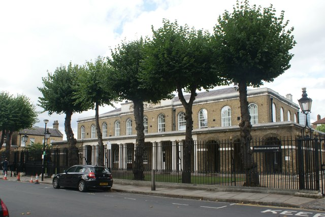 View of Trafalgar Quarters from Park Row