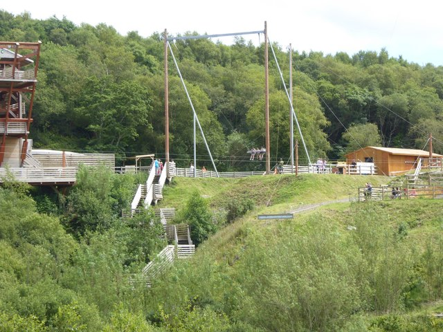 The giant swing, Eden Project