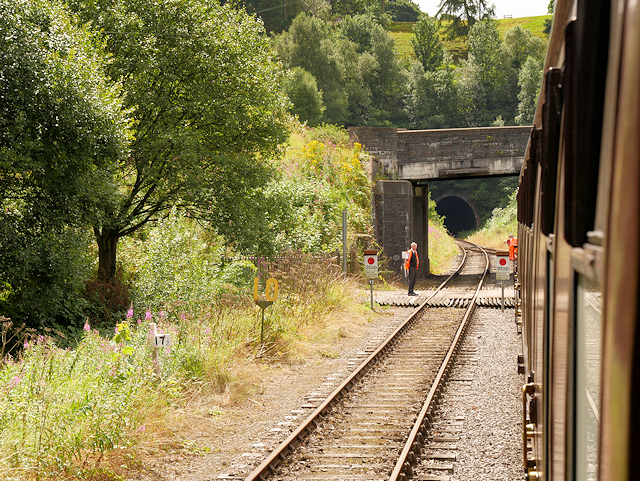 Churnet Valley Railway, Bridge at Leek Road