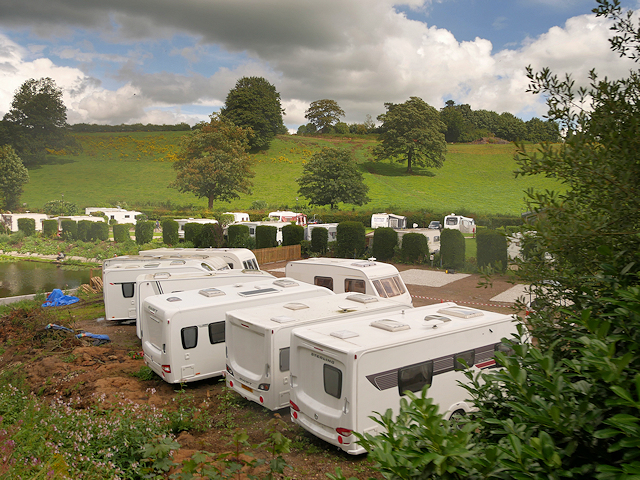 Glencote Caravan Park, Cheddleton