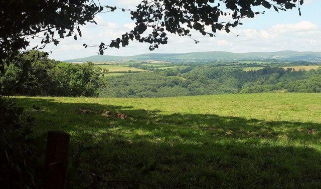 View to Dartmoor