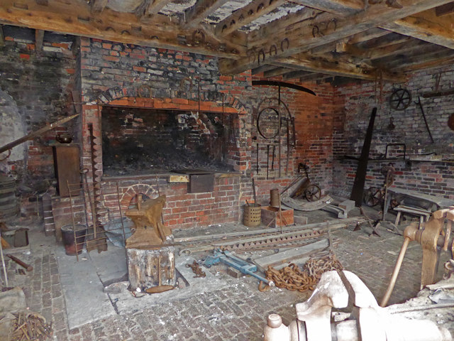 Calke Abbey - forge