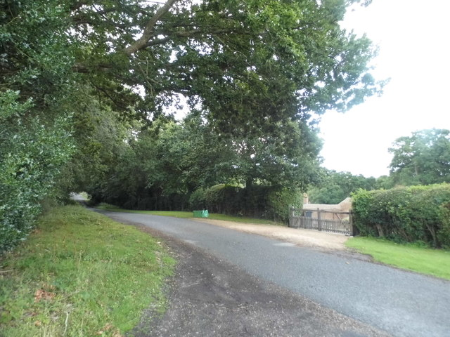 Unnamed Road in Wickham Heath