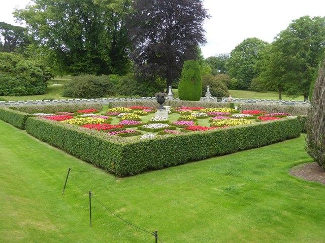 Formal garden, Lanhydrock House