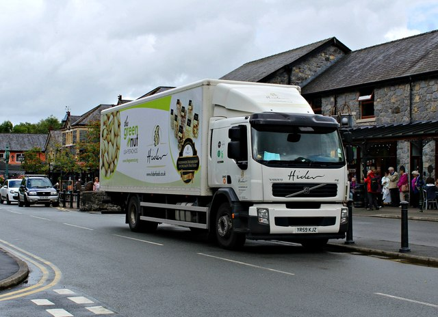 A Hider delivery in Betws-y-Coed