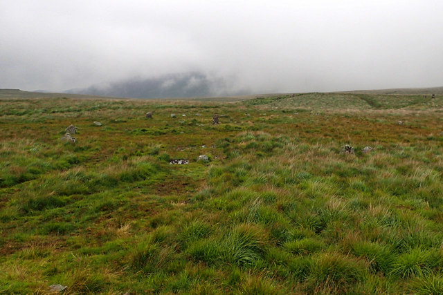 Stone circle, Brat's Hill