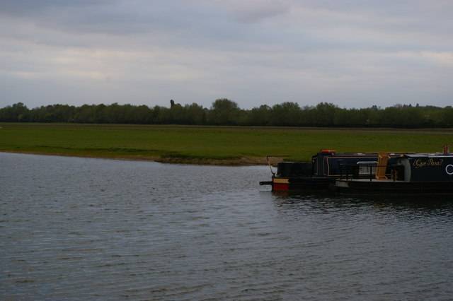 The Thames and Port Meadow, at Medley