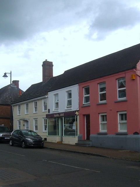 Greenfield House/Brook House, High Street, Henfield