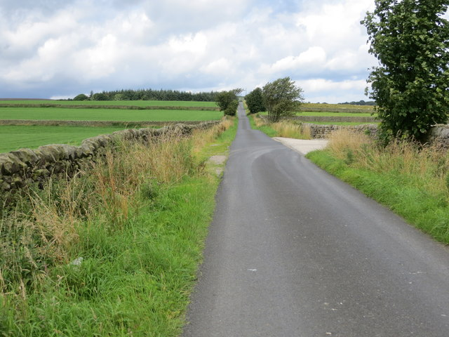 Lane Foot Lane heading towards Monk Ing Road