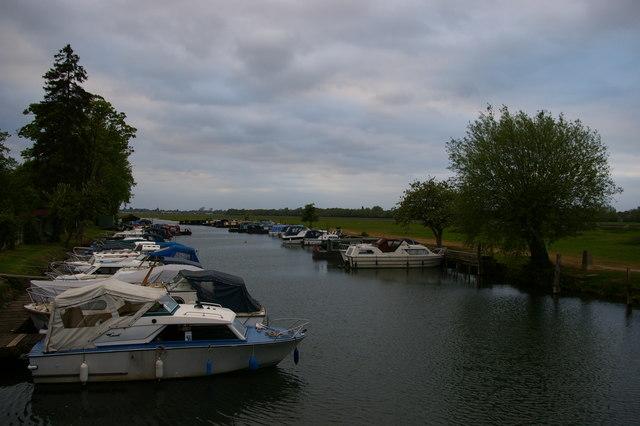 Boatyard at Medley