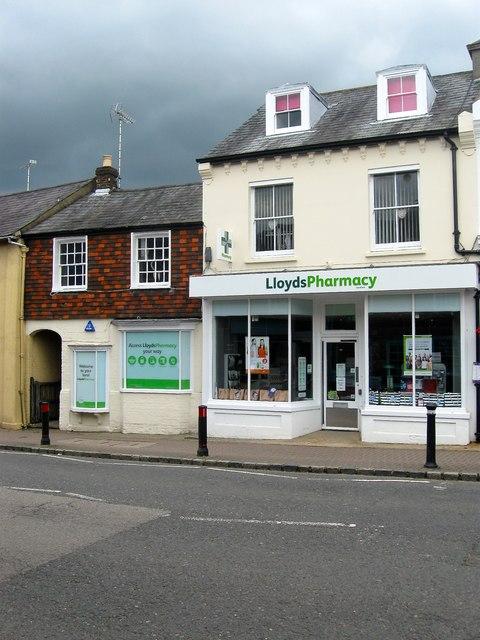 Lloyds Pharmacy, High Street, Henfield