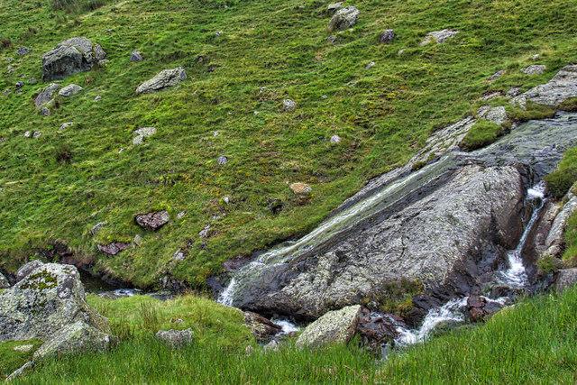 Waterfall, Greenhead Gill