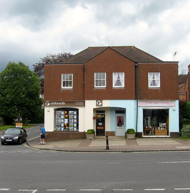 Shops, High Street, Henfield