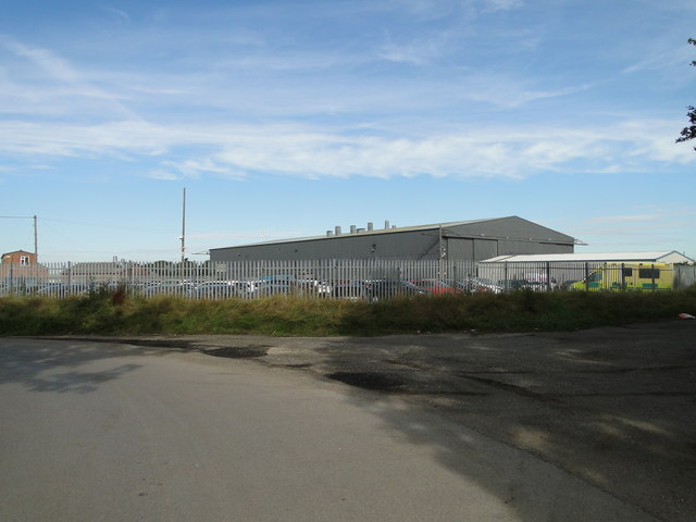 T2 Hangar at ex-USAAF Station Raydon
