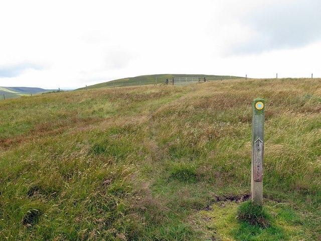 Rough path on Eald Rigg