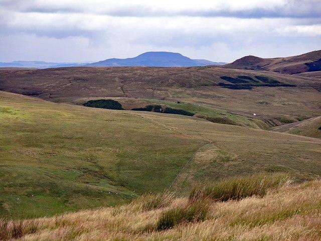 Hillside north-west of Deel's Hill