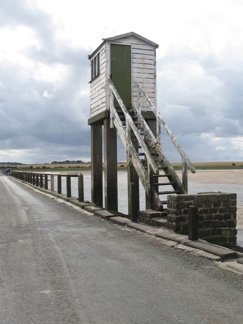 Refuge on the Lindisfarne Causeway