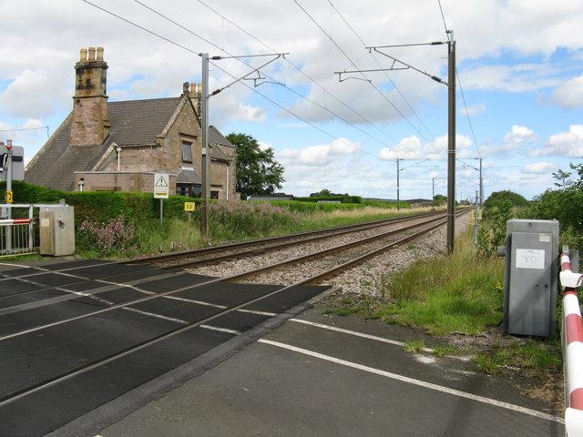 East Coast Mainline at Smeafield