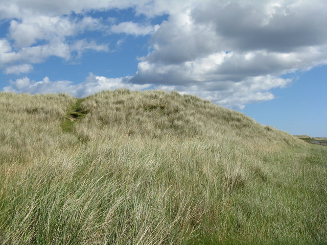 Sand dune at The Snook