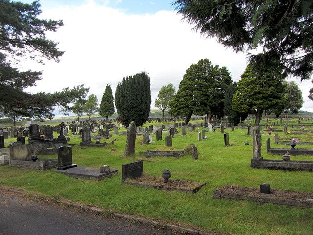 Cemetery in Hirwaun
