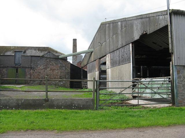 Farm buildings at Elwick