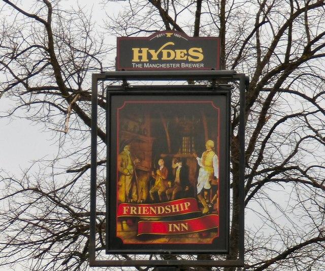 Sign of the Friendship Inn
