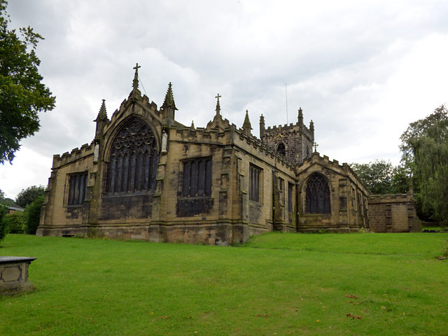 St Peter, Birstall - east end