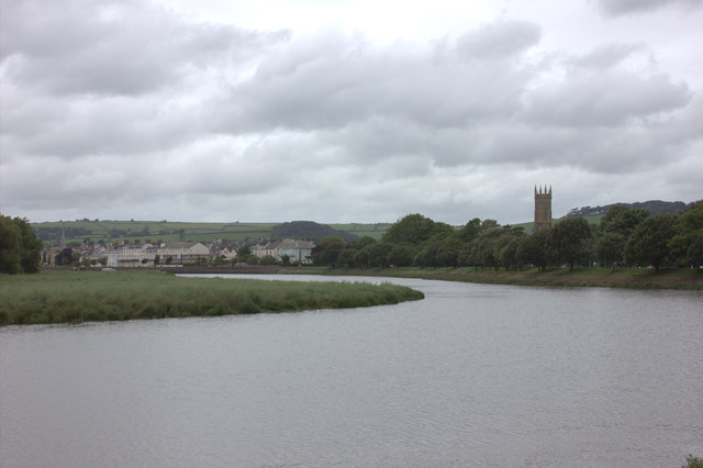 River Taw, looking north towards Barnstaple